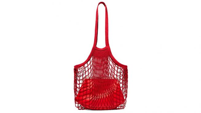 Vetements Bolsa Red