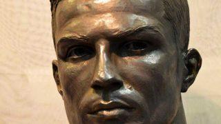 Así es el nuevo busto de Cristiano Ronaldo