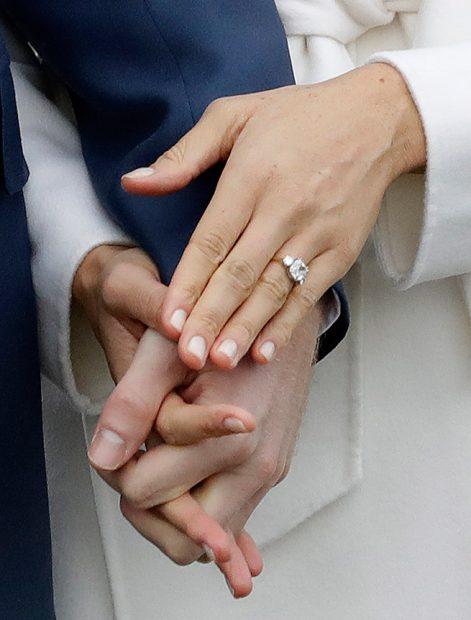 Meghan Markle y el Príncipe Harry anuncian su compromiso. / Gtres