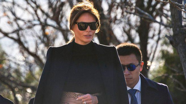 Melania Trump no deja de inspirar con su estilo / Gtres