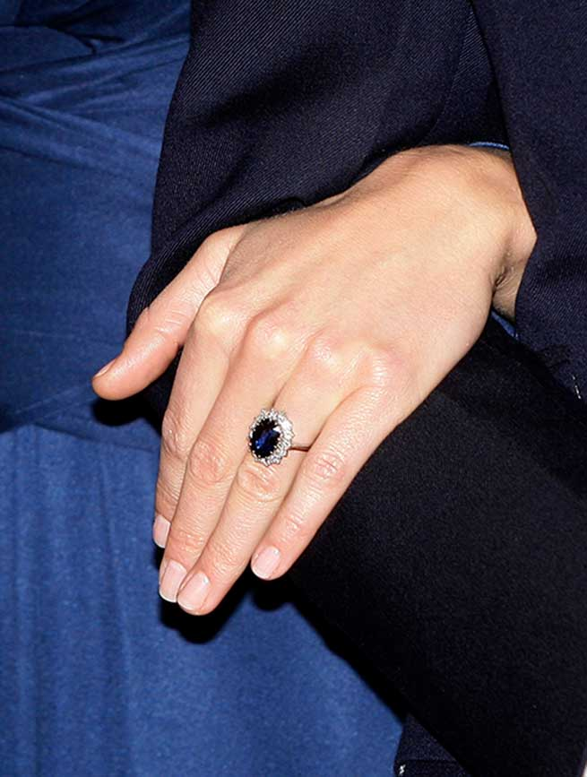 Meghan Markle Kate Middleton Anillos Compromiso