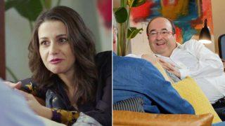 Inés Arrimadas y Miquel Iceta se sientan con Bertín/Gtres