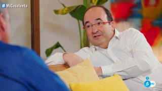 Miquel Iceta se confiesa con Bertín Osborne/ Mediaset