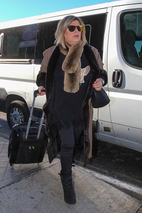 Los looks de Las Campos en el aeropuerto