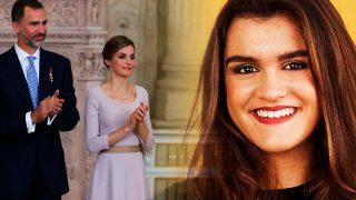 Los Reyes de España y Amaia de OT en un fotomontaje de LOOK