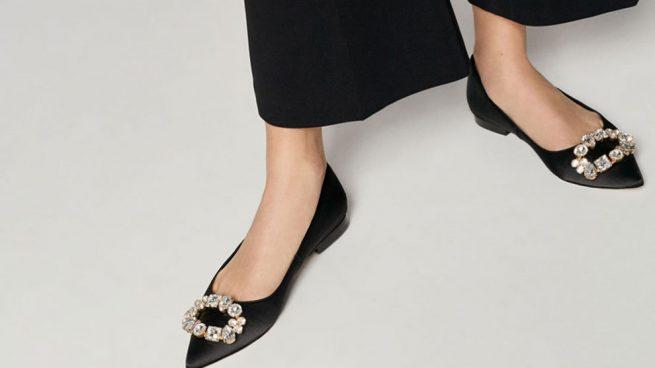 zapatos planos uterqüe