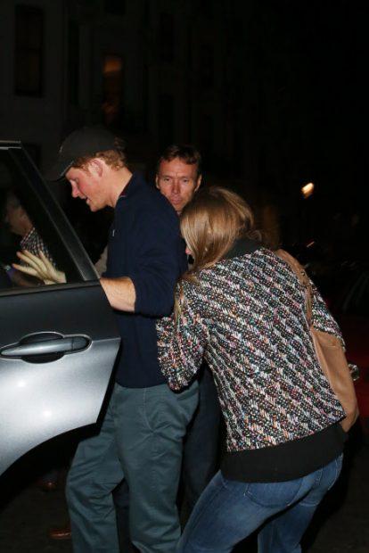 Harry y su ex, juntos pero no revueltos. ¿Dónde estaba Meghan?