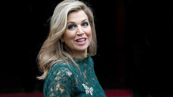 Máxima de Holanda Reina Letizia Vestido
