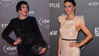 Las actrices españolas Rossy de Palma y Maribel Verdú durante los 'Premios Fénix'. / Gtres