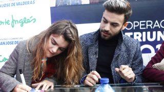 Al inicio de la firma de discos de Madrid /Gtres