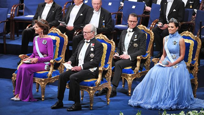Victoria de Suecia deslumbra con una de las tiaras preferidas de Magdalena