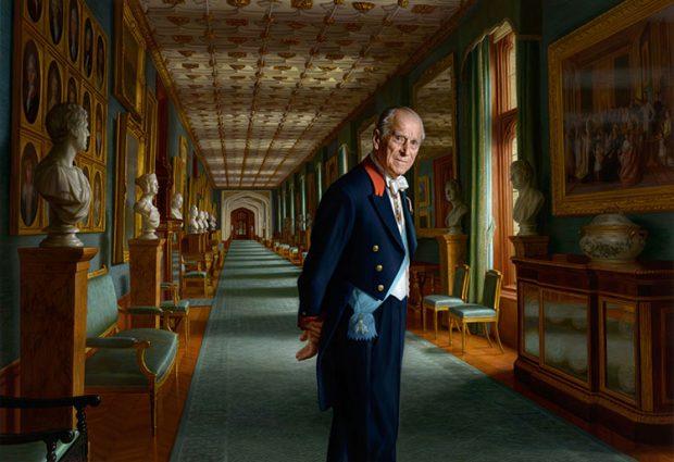 Los secretos del nuevo retrato del duque de Edimburgo