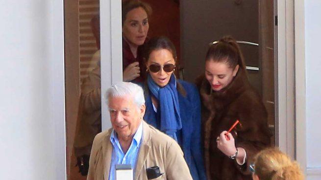 Isabel Preysler, Vargas Llosa y Tamara Falcó