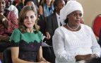 La reina Letizia y Marieme Faye