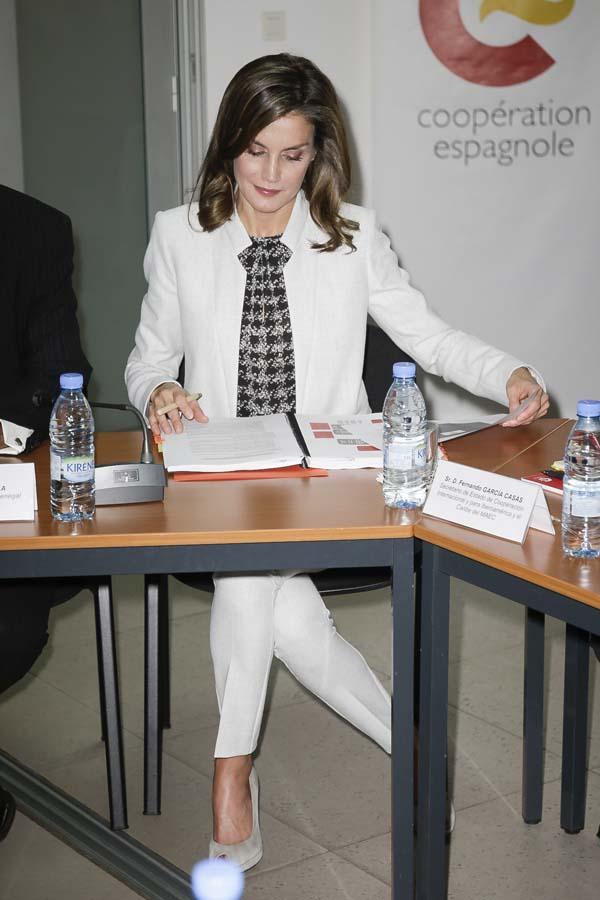 Reina Letizia Hugo Boss