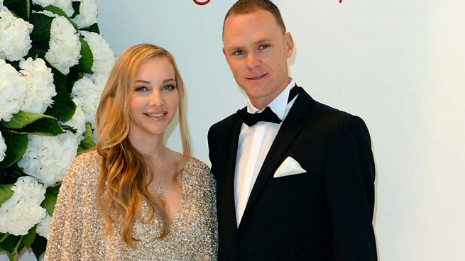 Michelle y Chris Froome