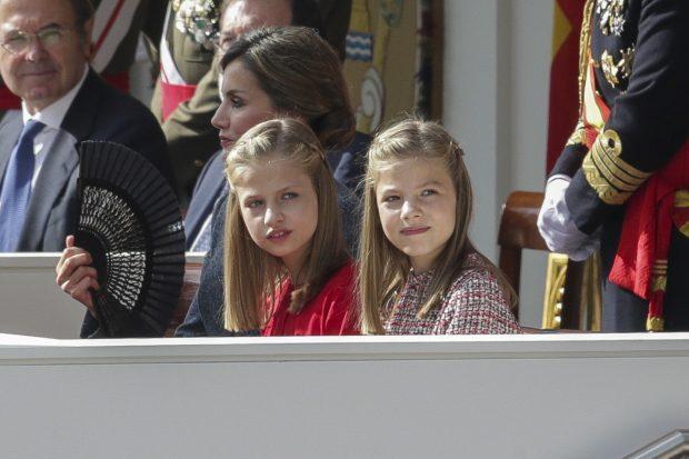El especial debut oficial de Leonor de Borbón