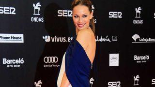 Una nueva lección de estilo premamá de la presentadora Eva González. / Gtres