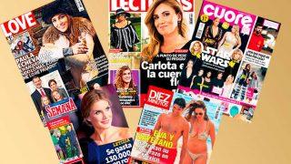 Galería: Revistas del corazón del miércoles 13 de diciembre de 2017 / Gtres