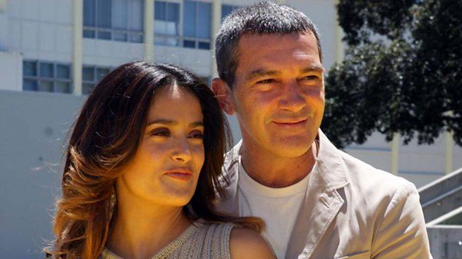 Salma Hayek Antonio Banderas Harvey Weinstein