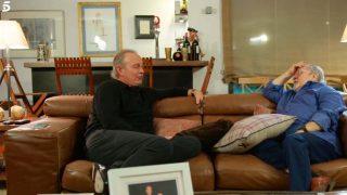 Bertín y Arévalo se reconcilian en televisión/Mediaset