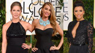 VER GALERÍA: Vestidos negros en los Globos de Oro / Gtresonline