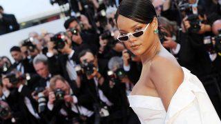 Rihanna en el Festival de Cine de Cannes 2017. / Gtres