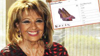 La periodista María Teresa Campos (Gtres) y una captura de su web mteresacampos.com