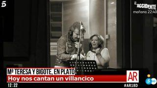 EN IMÁGENES | Así se ha preparado el villancico de Teresa y Edmundo / Mediaset