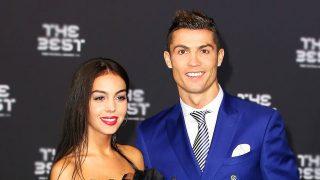 Georgina y Cristiano en los Premios FIFA World Player 2017 / Gtres