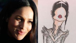 GALERÍA: Todos los bocetos del vestido de novia de Meghan Markle / Gtres