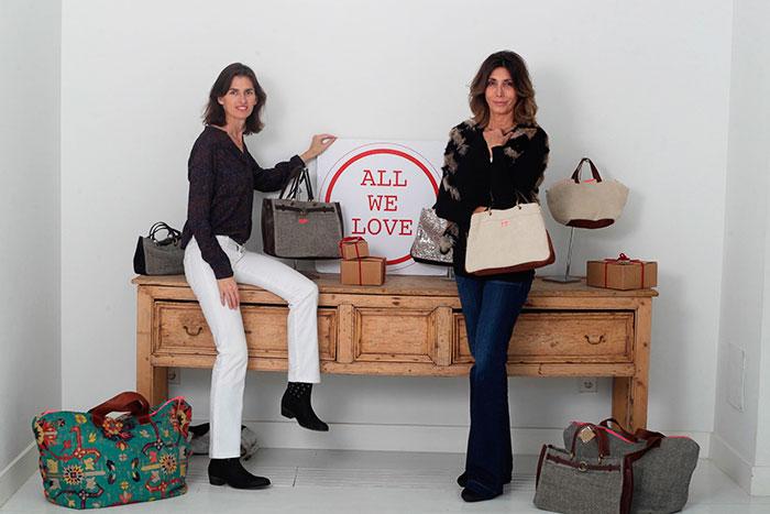 Paloma Tey e Inés Sentmenat / Bolsos Allwelove