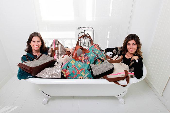 Paloma Tey e Inés Sentmenat Bolsos Allwelove