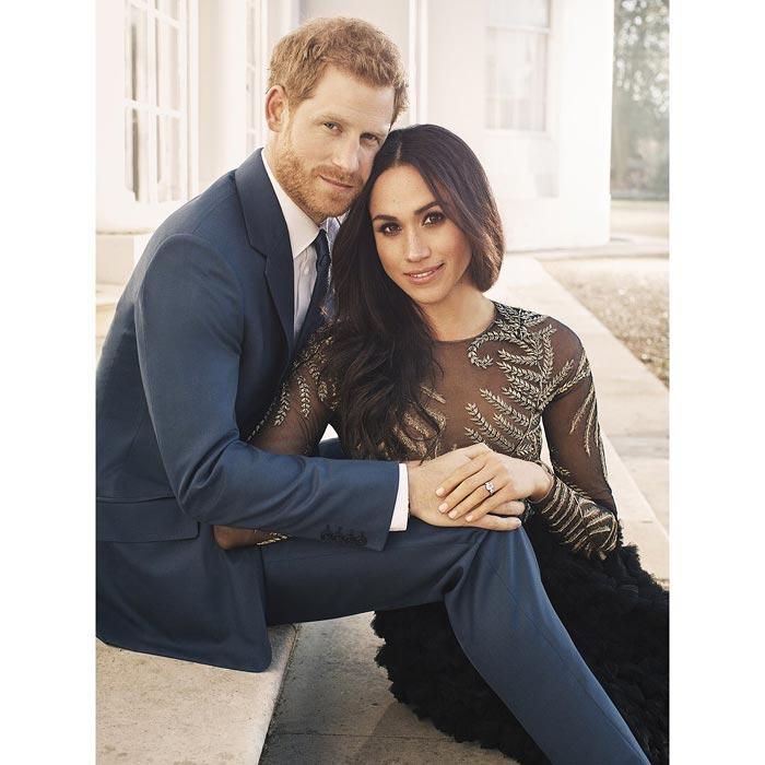 El príncipe Harry y Meghan Markle, foto oficial de su compromiso / Kensington Palace