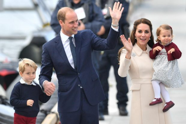 ¿Cuántos regalos recibirán los príncipes George y Charlotte?