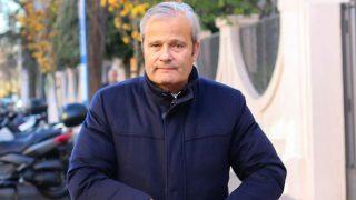 EN IMÁGENES | Javier Merino acude al festival de Navidad de sus hijos / Gtres