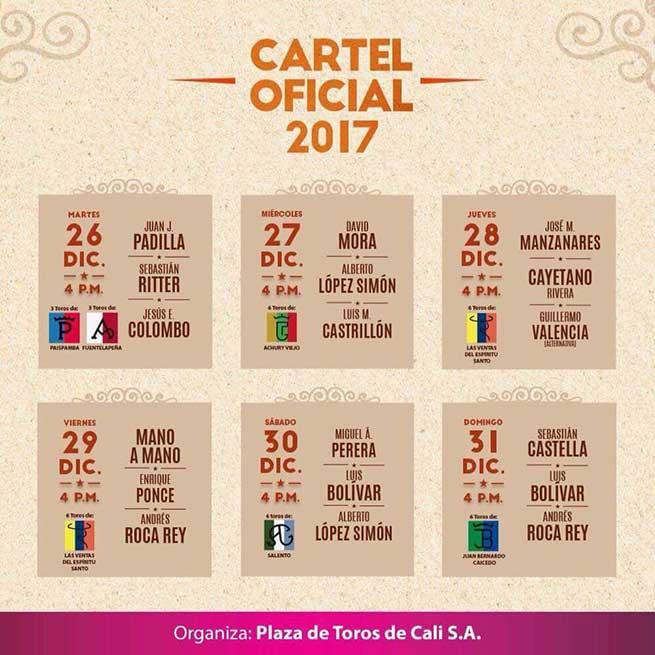 Feria de Cali 2017 Cayetano