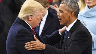 Obama y Trump/ Gtres
