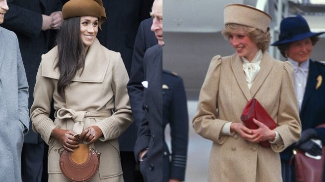 Pillamos a Meghan Markle copiando a Lady Di