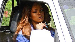 Rihanna destrozada tras la muerte de su primo/Gtres