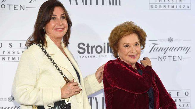 Carmen Martínez Bordiú y Carmen Franco