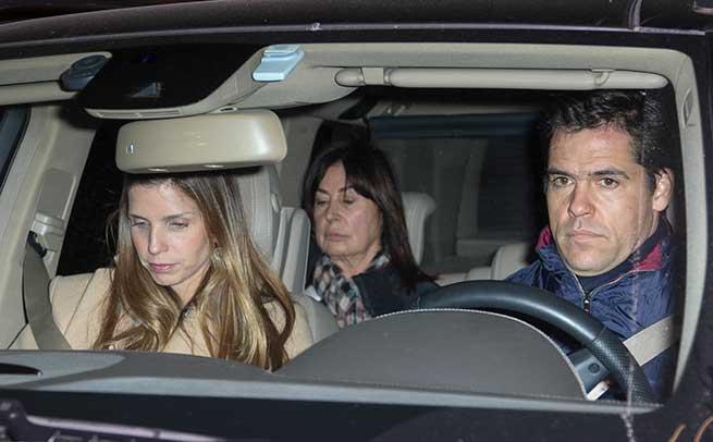 Margarita Vargas, Carmen Martínez-Bordiú y Luis Alfonso de Borbón
