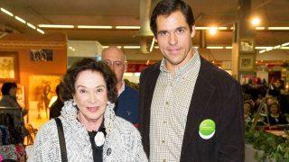Luis Alfonso de Borbón y su abuela Carmen Franco / Gtres