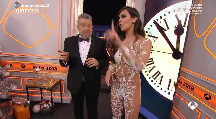 El look de Cristina Pedroche para las campanadas 2017/2018