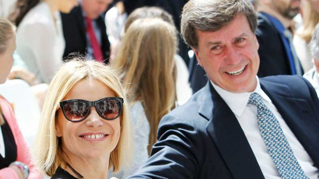 Cayetano Martínez de Irujo y Eugenia Martínez de Irujo
