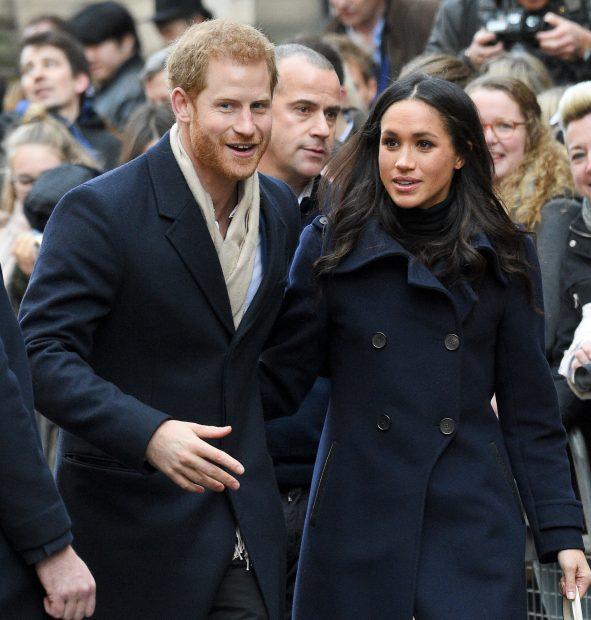 La escapada secreta del príncipe Harry y Meghan Markle