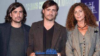 Gelete y Pablo Nieto junto a Belinda Alonso en una imagen de archivo / Gtres