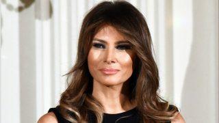 Melania Trump deslumbó en Nochevieja / Gtres