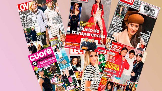 revistas del corazón del 3 de enero de 2018 Andrea Janeiro
