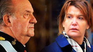 El rey Juan Carlos e Ingrid Sartiau en un fotomontaje de LOOK